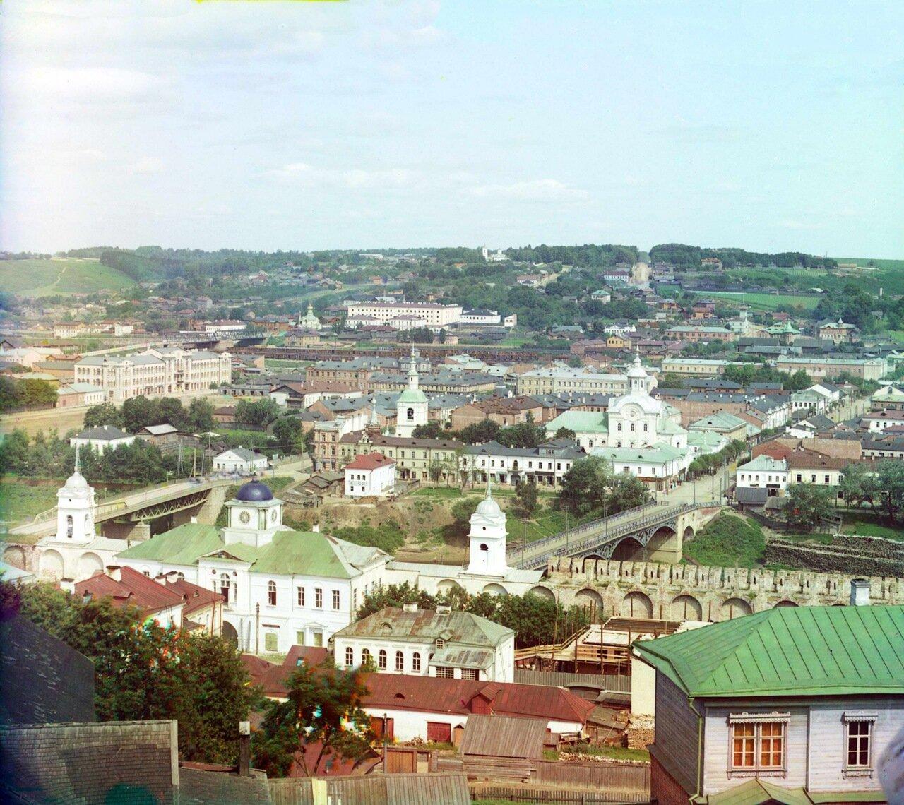 Общий вид северной части с колокольни Успенского собора