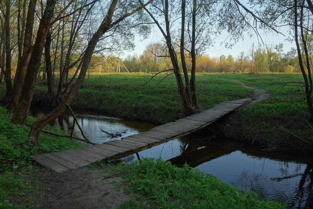 мостик через р. Березовка