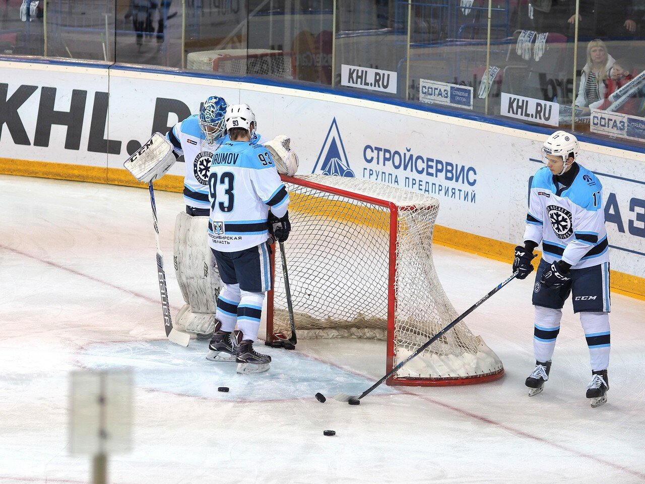10Плей-офф 2016 Восток 1/2 Металлург - Сибирь 16.03.2016