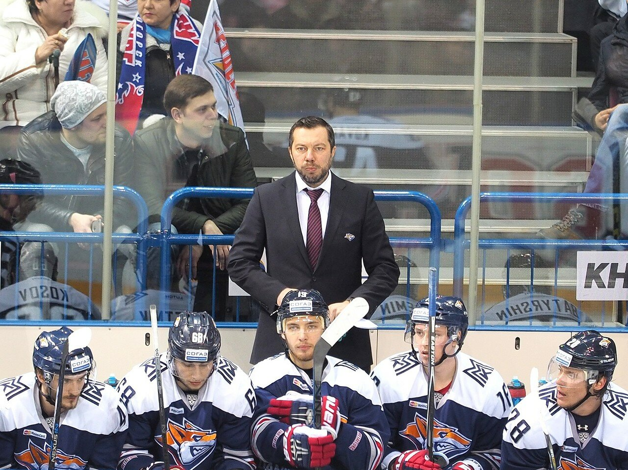 65Плей-офф 2016 Восток 1/2 Металлург - Сибирь 16.03.2016