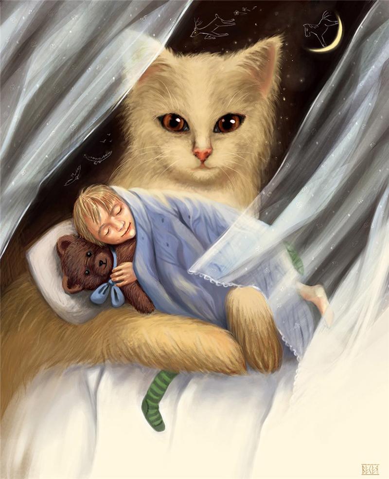 А.а. фет кот поет прищуря