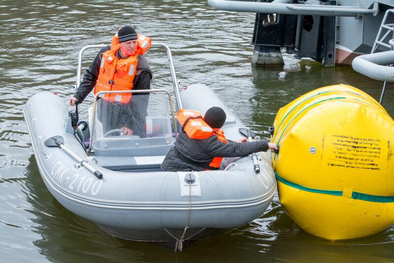 Международный конкурс по водолазному многоборью
