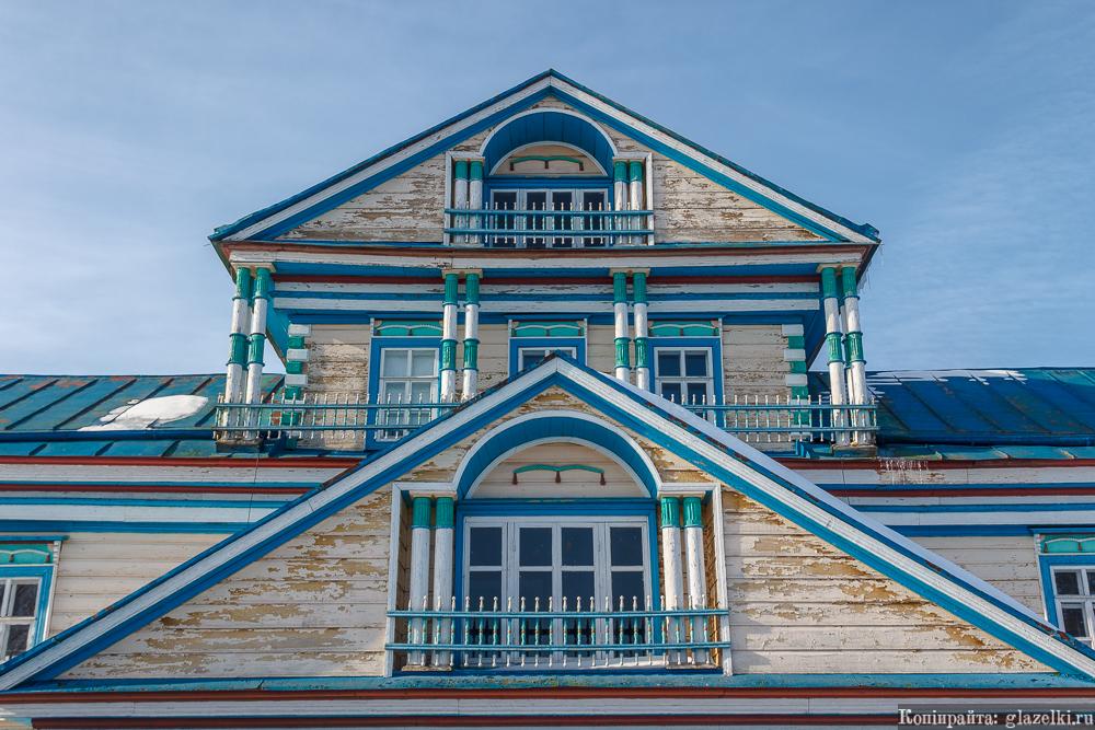 Дом Гатауллы Даутова в Большой Атне.