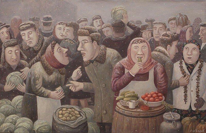 картины Владимира Любарова