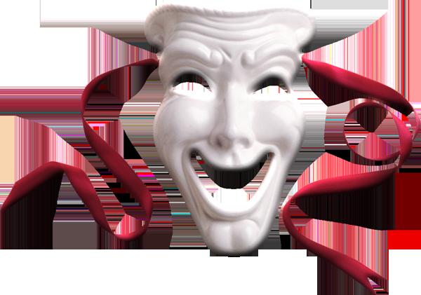 Театральные маски в png - Кира-скрап - клипарт и рамки на ...