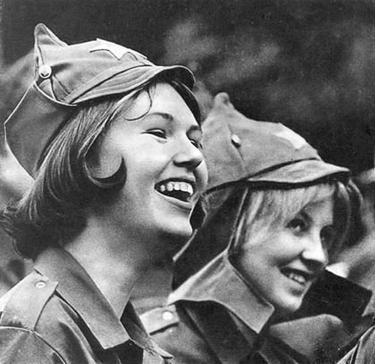 Олые девушки 1980 годы фото