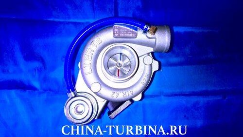 Турбокомпрессор JP60S Бав Феникс 1065 BAw Fenix 1065 для двигателя CA4D32-12 В1118010-С129 4 отверстия крепления