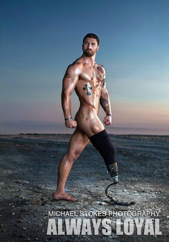 Откровенные фотографии ветеранов, получивших ранения и увечья
