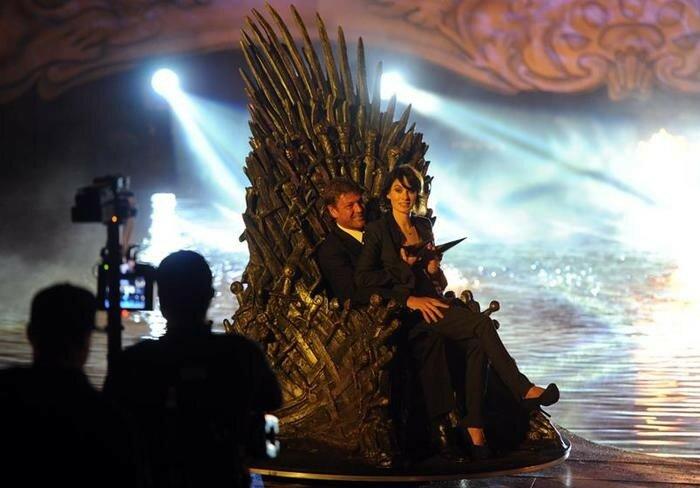 Копия: Железный трон Вестероса из «Игры престолов» установят на ВДНХ в Москве