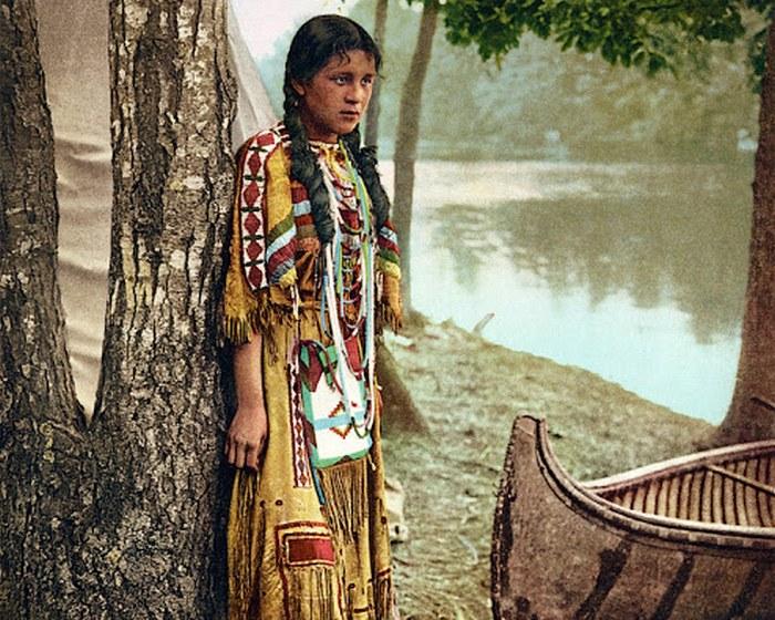 Редкие фотографии коренных американцев, сделанные в конце XIX века (13 фото)
