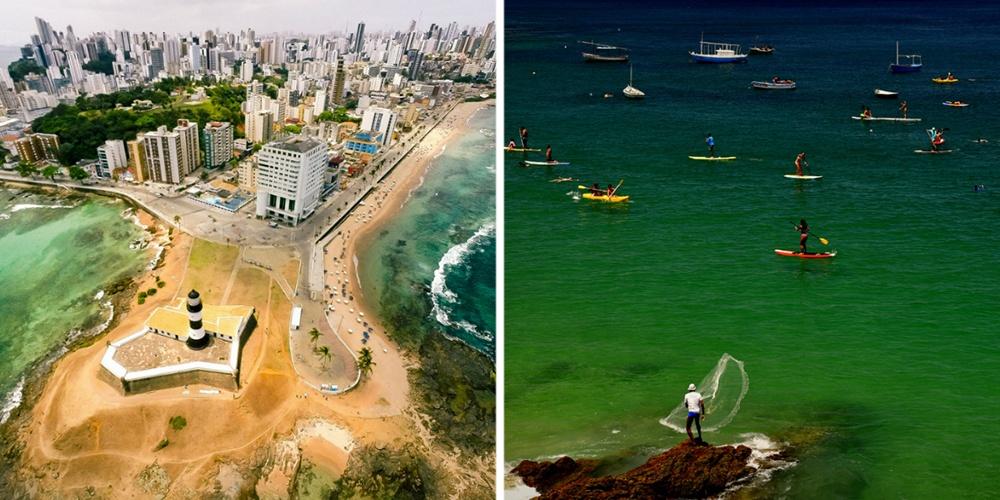 Главными сокровищами Сальвадора являются великолепные тихоокеанские пляжи, красивые виды навулканы