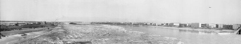 1975 Омск вид с Ленинградского моста на север.jpg