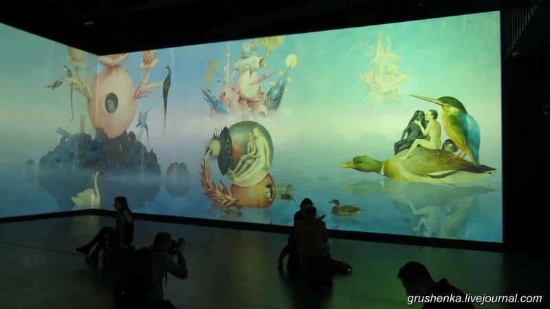 Мультимедийная выставка Босха