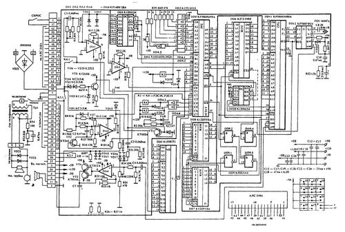 АОН на базе микропроцессора КР580ВМ80А 0_138cf8_5670908b_L