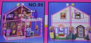 Кукольный домик для Барби My Pretty Doll House 133 детали
