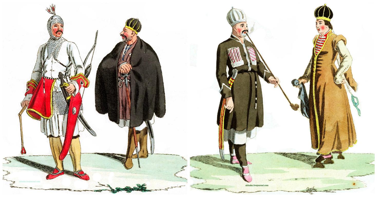 Гейслер Х. Г. Хемпль Ф. Изображение и описание народов находящихся под управленим Российского Императора Александра I.