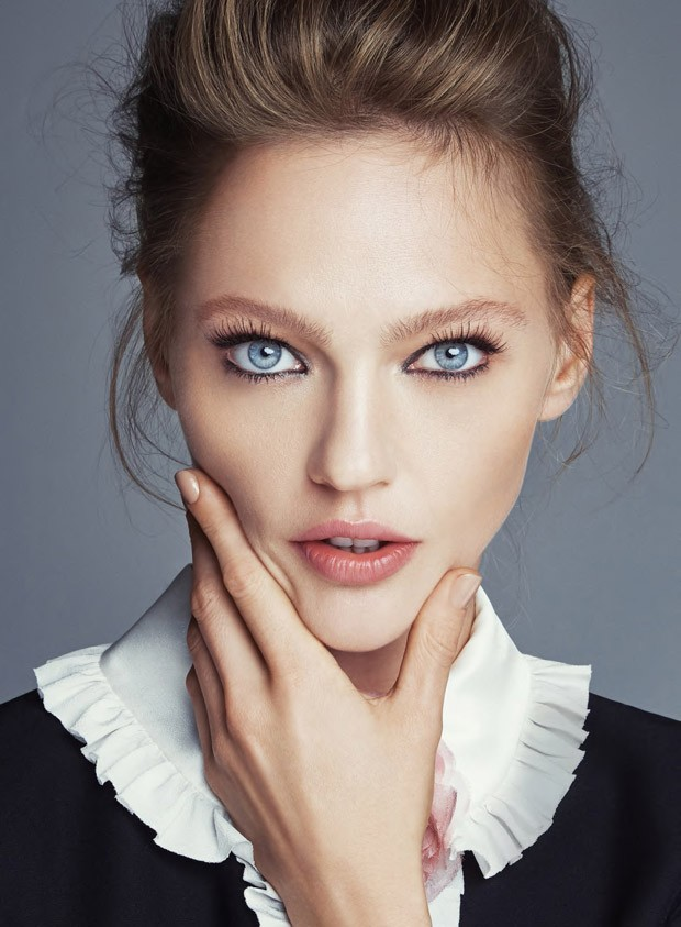 Sasha Pivovarova for Allure by Patrick Demarchelier (3 pics)