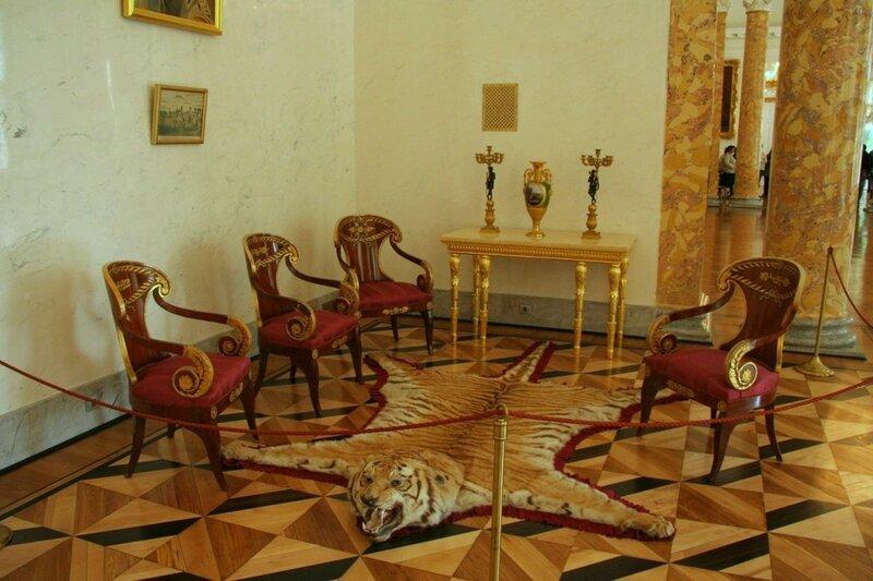 Бильярдный зал, Александровский дворец, Царское Село