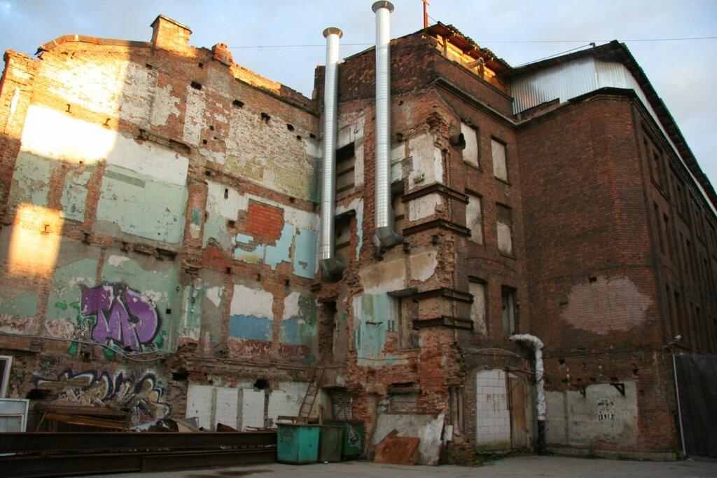 Следы снесенного дома, Санкт-Петербург