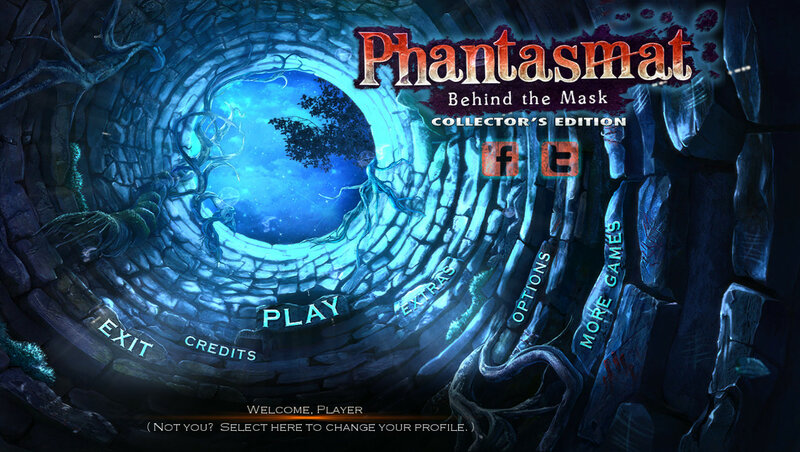 لعبة Phantasmat: Behind Mask Collector's