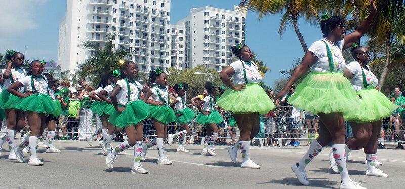 Танцевать любят все. День Святого Патрика