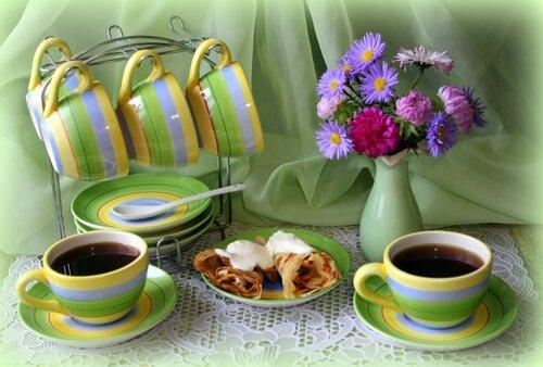 Блинчики к кофе!