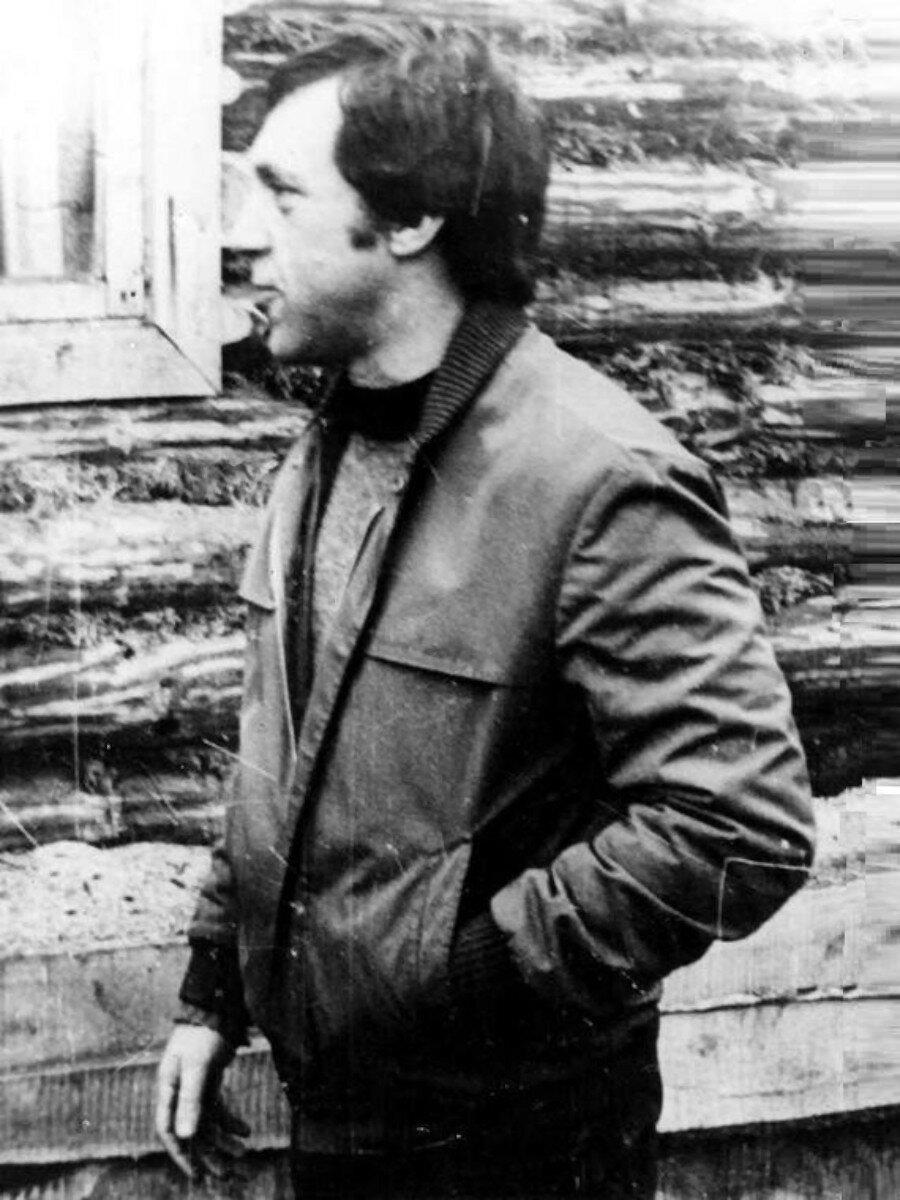 50. Владимир Высоцкий в Иркутской области. Фото Сергея Геннадьевича Зимина, 17 июня 1976 года