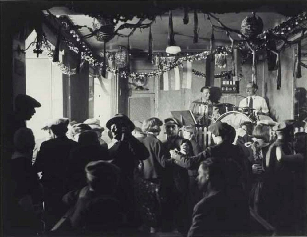 1932. Танцпол «Четыре сезона» на рю де Лаппе