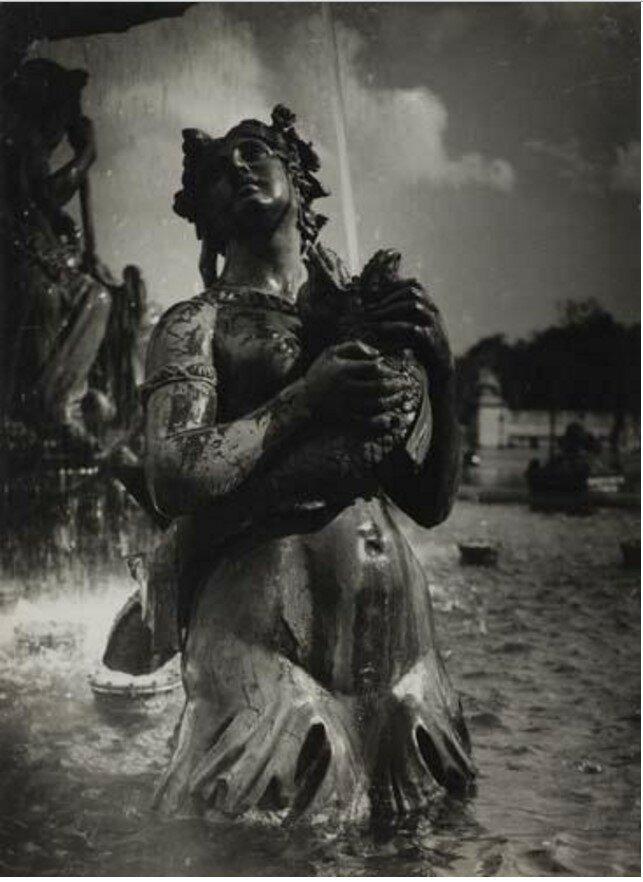 1930. Фонтаны на площади Согласия