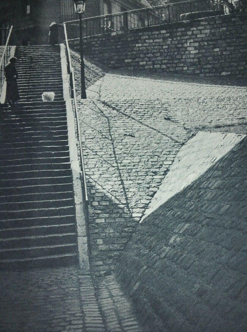 1932-1933. Лестницы Монмартра
