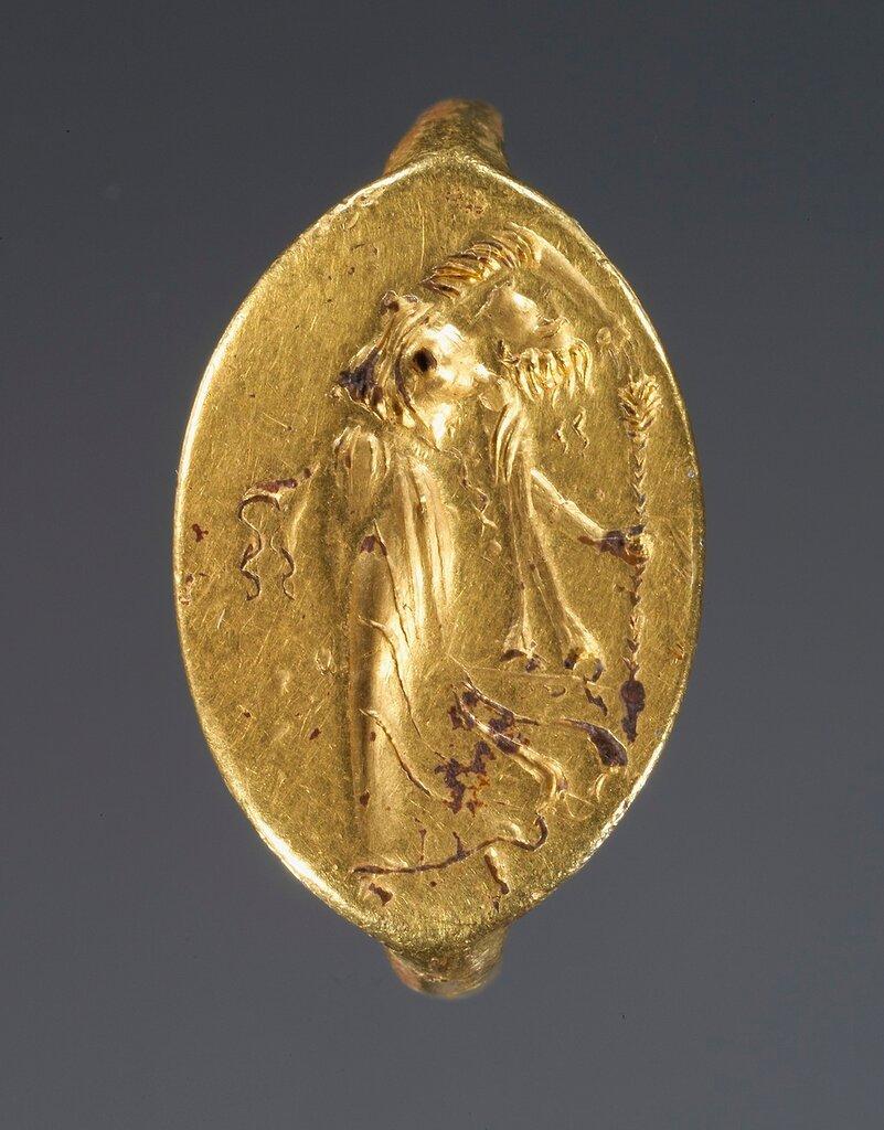 Ring; Unknown; Greece, Europe; 4th century B.C.