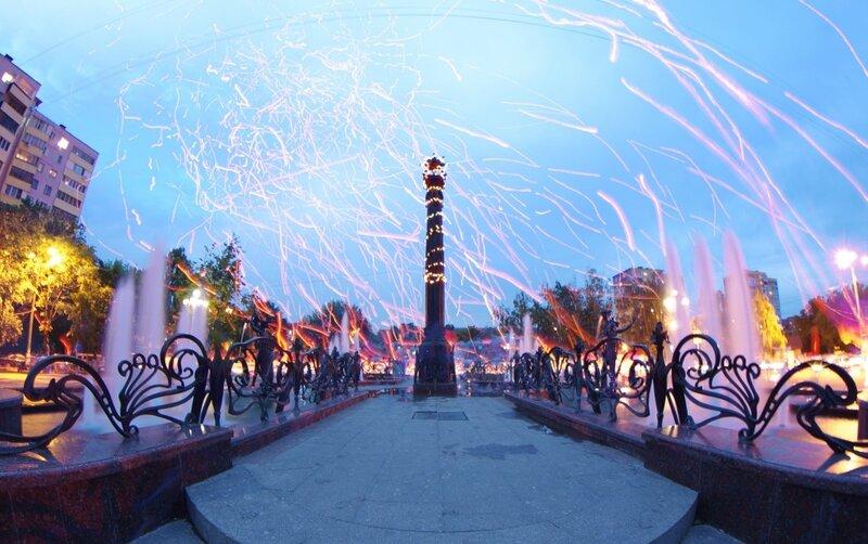 небесные фонарики в Раменском