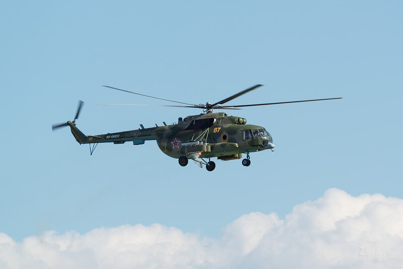Миль Ми-8МТ (RF-06057 / 87 жёлтый) D801041