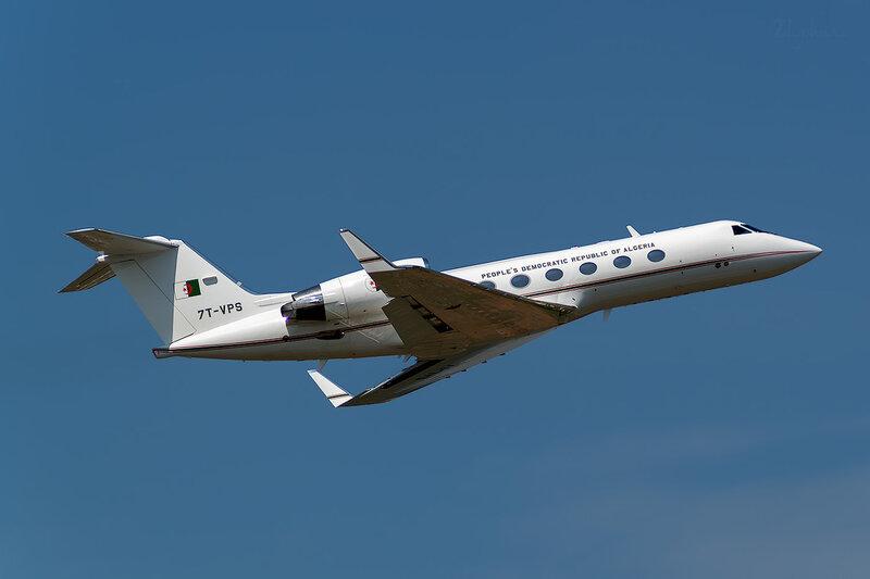 Gulfstream G-IV (7T-VPS) Algeria - Government D801542