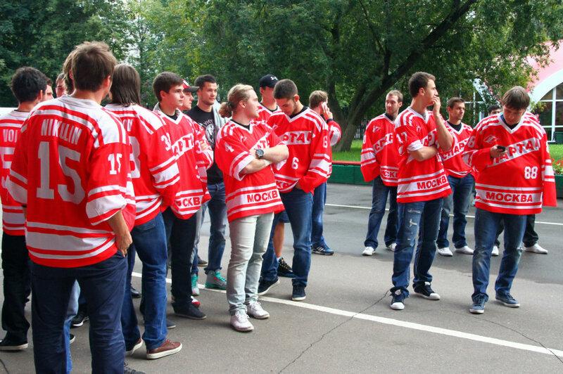 Встреча ХК «Спартак» с болельщиками (Фото)