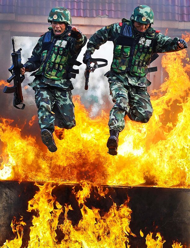 China Paramilitary Police