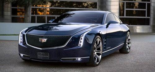 Cadillac рассекретил концепт заднеприводного купе