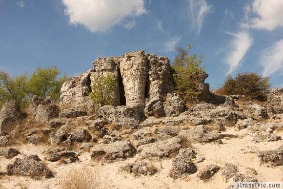 как появился каменный лес в Болгарии