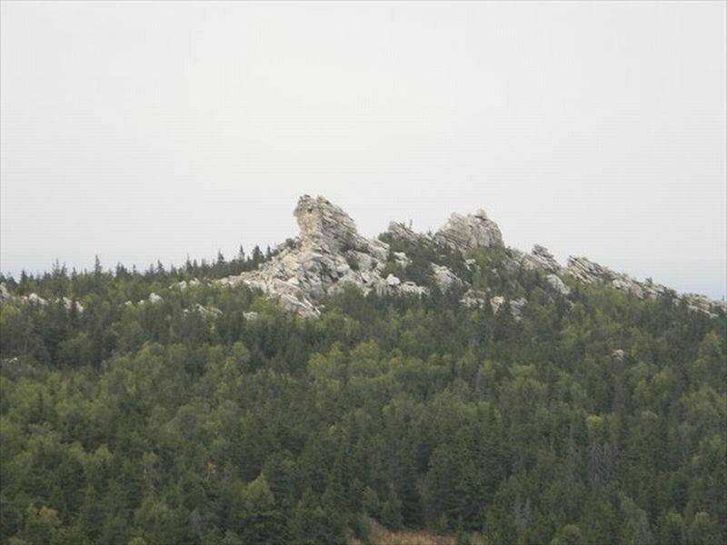 Вершина хребта Юрма (10.06.2013)