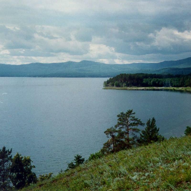 Берега озера Увильды (17.06.2013)