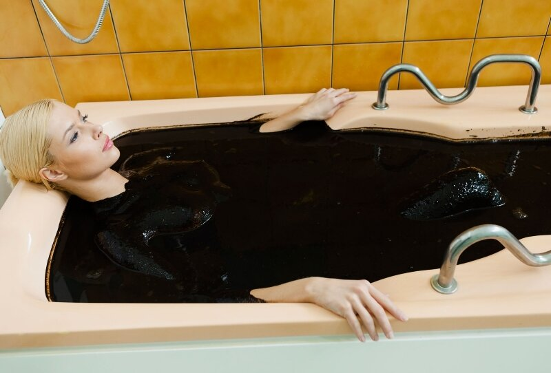 Лечебная грязь, грязевые ванны