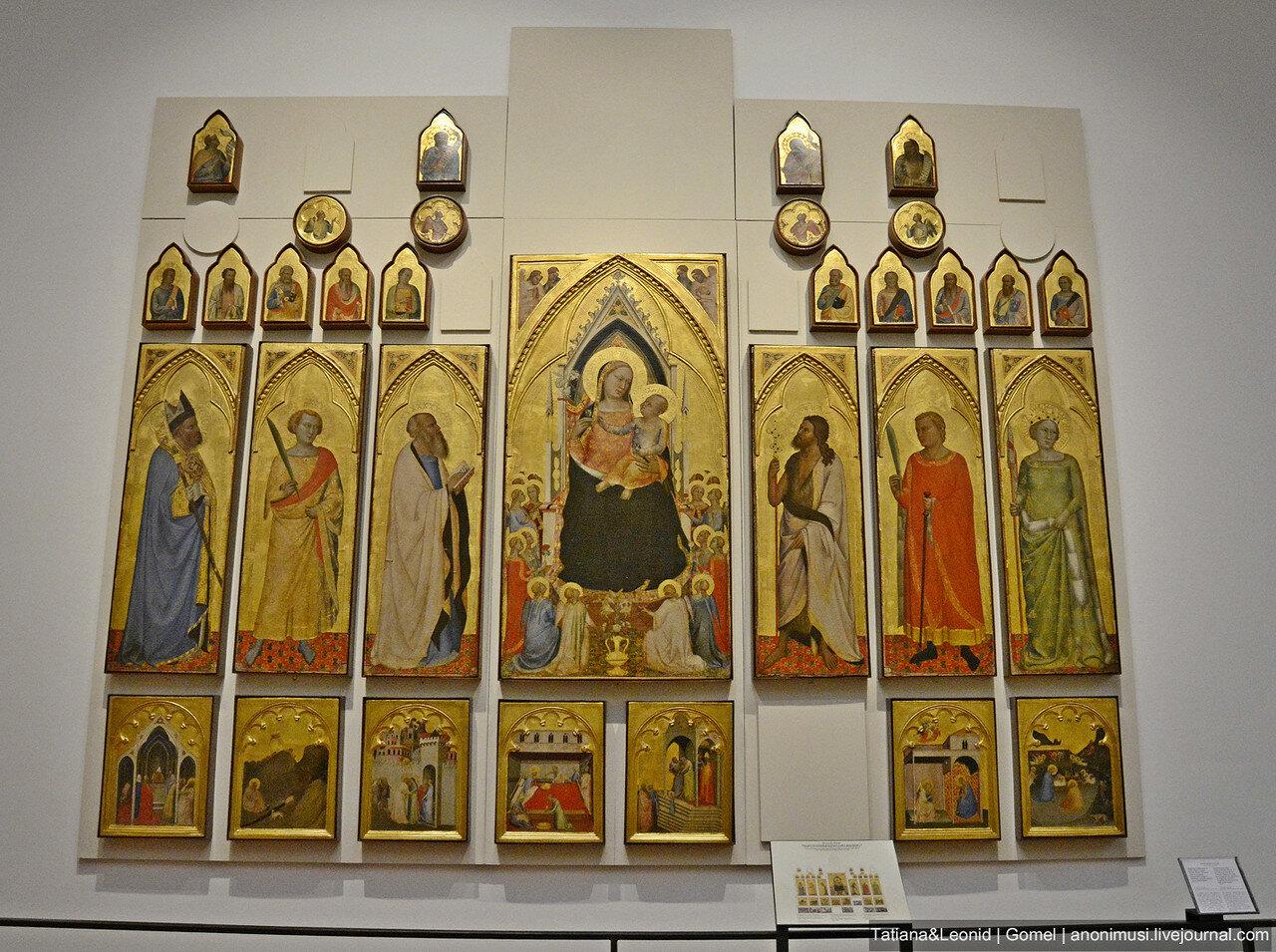Полиптих из церкви Сан Панкрацио