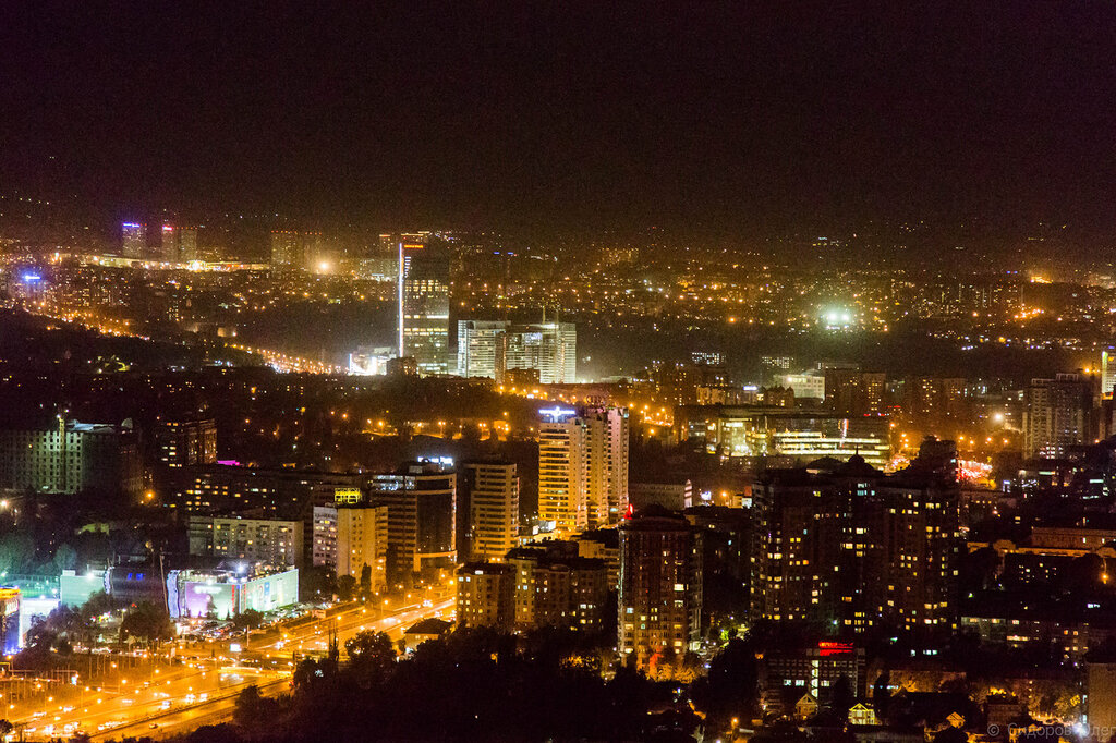Алматы ночь картинки