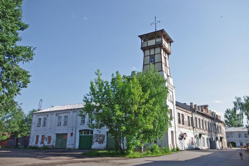 Здание Банка и Пожарное депо