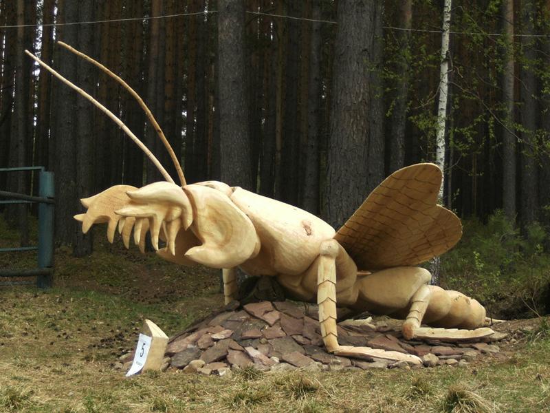 Фестиваль деревянных скульптур «Лукоморье-2013»