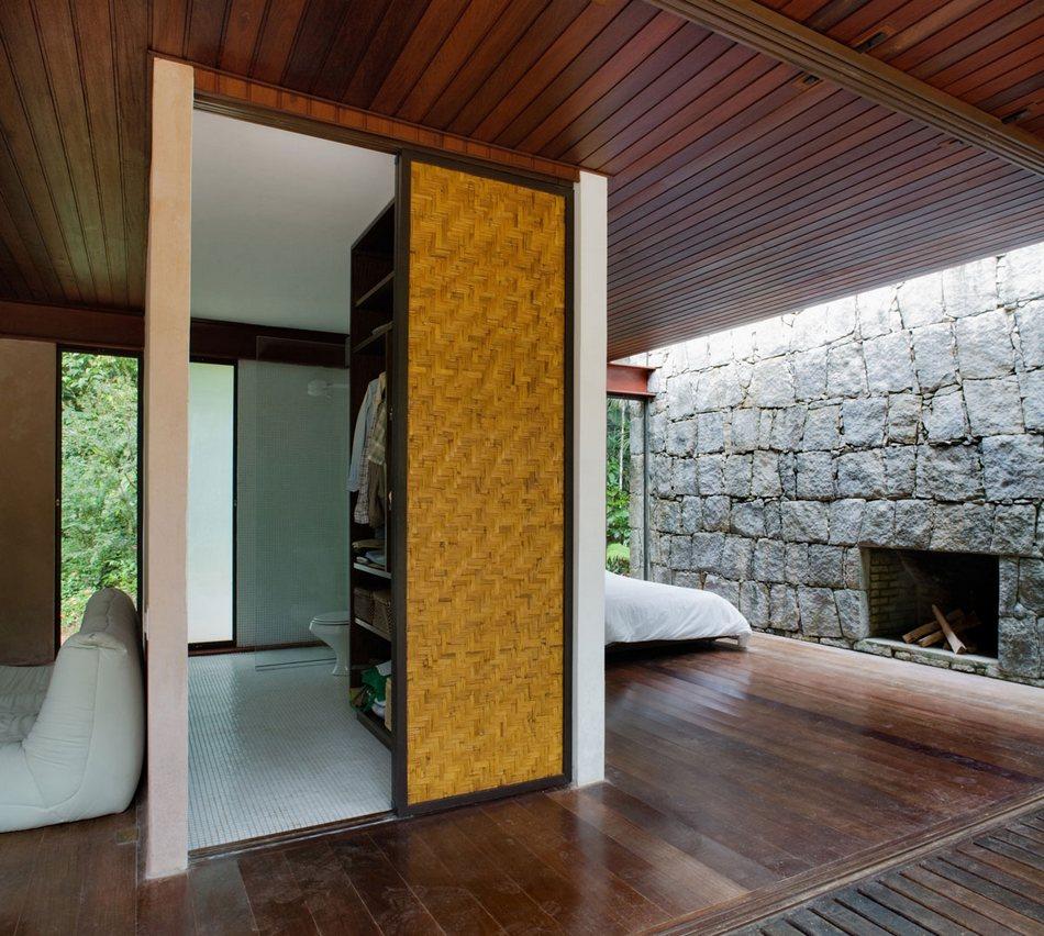 Дом на выходные в тропических джунглях Бразилии