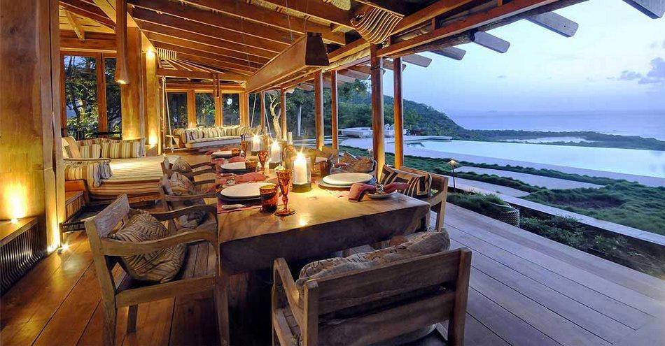 Райский отель Opium Mustique в Карибском бассейне