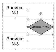 Рис. 4.6. Вы можете выделить отдельный элемент, входящий в группу, и настроить его параметры индивидуально