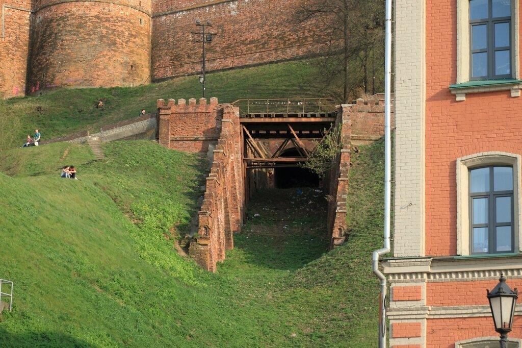 Бывший кремлевский фуникулер, Нижний Новгород