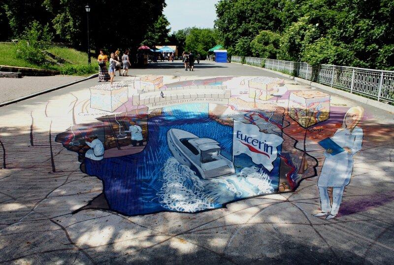 3d-картина в Мариинском парке
